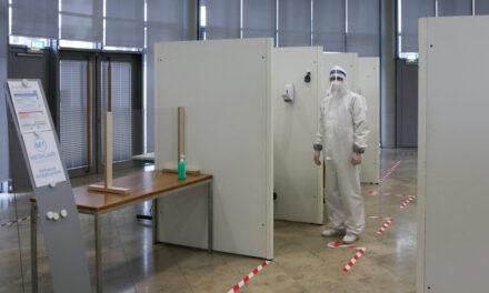 Corona-Bürgerteststellen in Rüsselsheim