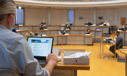Die neue Stadtverordnetenversammlung wird digital