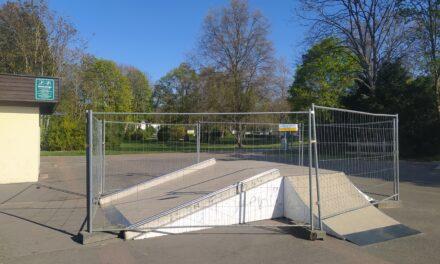 Skaterbahn nach TÜV-Prüfung vorläufig gesperrt