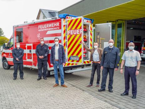 """""""Hoch komplexe Anforderungen im Ehrenamt erfüllt"""": Gefahrstoff-Messfahrzeug für Feuerwehr"""