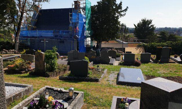"""<span class=""""entry-title-primary"""">Sanierung der Friedhofskapelle</span> <span class=""""entry-subtitle"""">Errichtung eines Indoor-Kolumbariums wäre für ganz Mainz ein Novum</span>"""