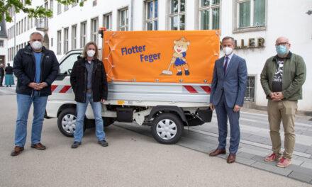 Flotter Feger startet ab 1. Juli für mehr Sauberkeit
