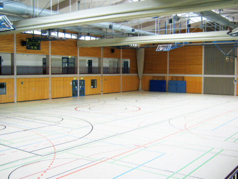 Stauffenhalle fertig saniert