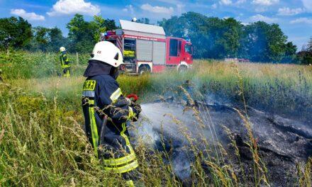 Heiße Tage für die Flörsheimer Feuerwehren