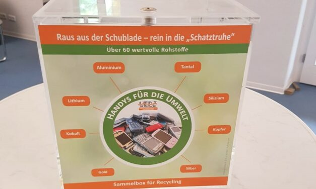 Handys für die Umwelt – Stadt Nierstein engagiert sich bei der Sammelaktion