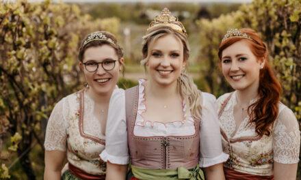 Krönungszeremonie der Hochheimer Weinmajestäten 2021/2022