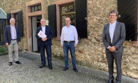 Weilbacher Ortsgerichtsvorsteher 25 Jahre im Dienst