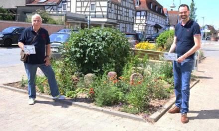Grünpatinnen und -paten machen Rüsselsheim grüner und bunter