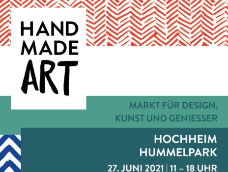 HandmadeART im Hummelpark Hochheim, 27.06.2021, 11 – 18 Uhr