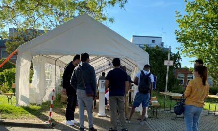 Flüchtlinge und Obdachlose aus Kriftel bekamen erste Corona-Impfung