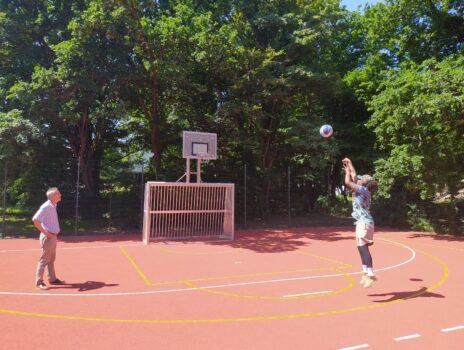 Kleinspielfeld im Freizeitpark