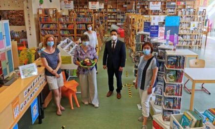 Mit Schwung: Stadtbibliothek unter neuer Leitung