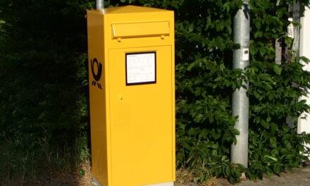 Zwei neue Briefkästen in Nierstein