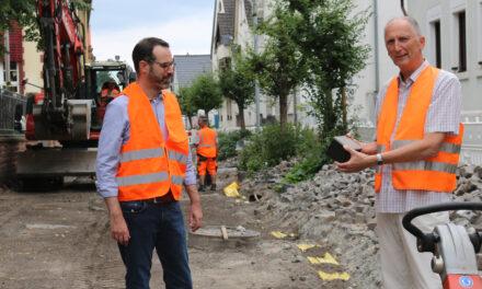 Sanierungsfortschritt: Schulweg in der Schulstraße wird sicherer