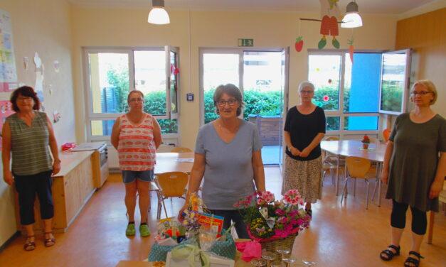 Kindertagesstätte Arche Noah und Gemeindeverwaltung Undenheim verabschieden langjährige Mitarbeiterin