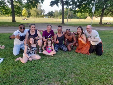 Capoeira-Workshop im Volkspark erfolgreich umgesetzt