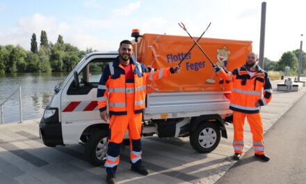 Flotter Feger wieder in Rüsselsheim unterwegs
