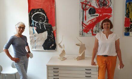 """<span class=""""entry-title-primary"""">Zwei sehr außergewöhnliche Frauen laden ein</span> <span class=""""entry-subtitle"""">Neueröffnung der Galerie und Ateliergemeinschaft SmitH ART in Weisenau</span>"""