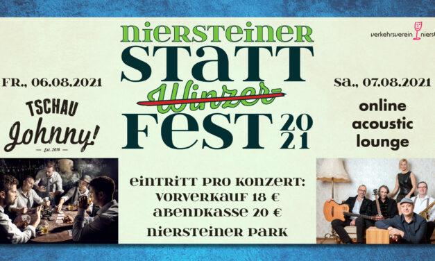 """<span class=""""entry-title-primary"""">Feiern – Erleben – Genießen</span> <span class=""""entry-subtitle"""">STATT(Winzer)FEST-Konzerte am 6. und 7. August 2021</span>"""