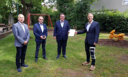Spielplatzumbau – Fördermittel für die Stadt Nierstein