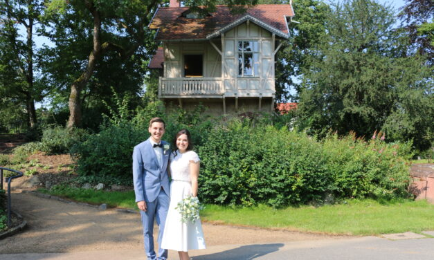 Erstes Brautpaar heiratet in der Alten Mühle