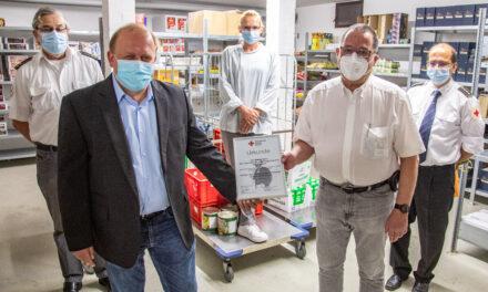 """GPR Klinikküche als """"Partner des Deutschen Roten Kreuzes"""" ausgezeichnet"""