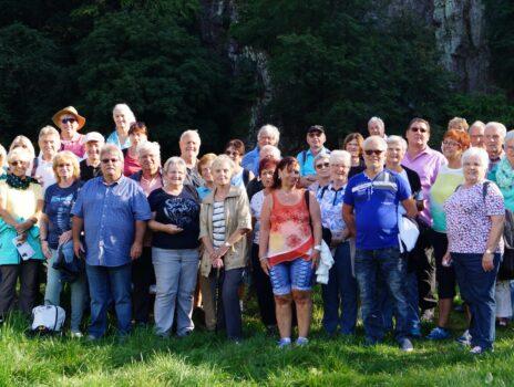 Wanderung der SG Eintracht Rüsselsheim am 12.09.2021