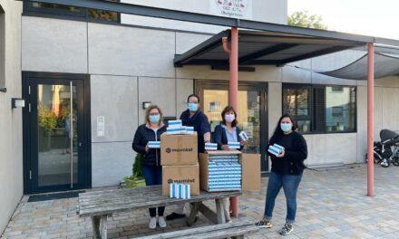 Gemeinde stellte Kitas 10.540 Lollitests zur Verfügung