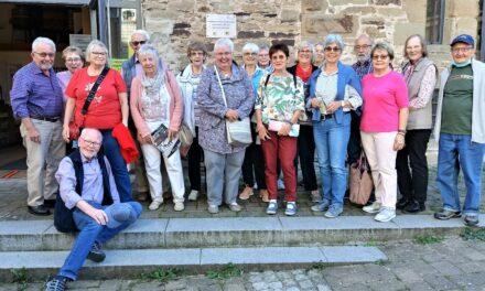 Der Jahrgang 42/43 machte eine Tagesfahrt zum Kloster nach Maulbronn