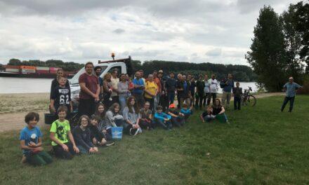 Rhine Clean up 2021: 50 mal DANKE