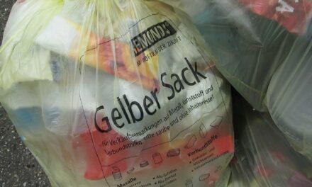 Gelber Sack für Verpackungsmüll ab dem nächsten Jahr in Bischofsheim und Ginsheim-Gustavsburg