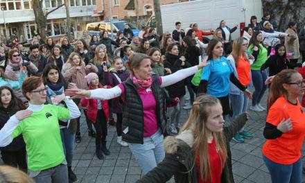 "<span class=""entry-title-primary"">One Billion Rising</span> <span class=""entry-subtitle"">Rüsselsheim tanzt gegen Gewalt an Frauen</span>"