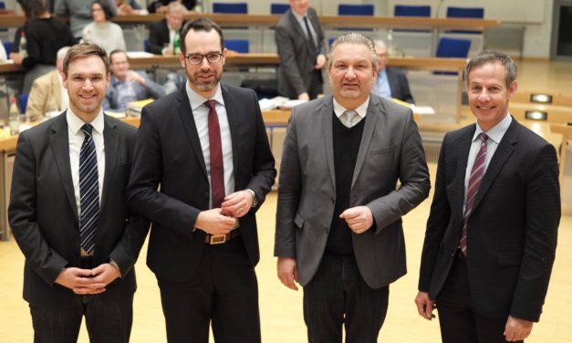 Stadtrat Nils Kraft wiedergewählt