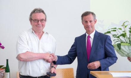 Sportnetzwerker Robert Neubauer in den Ruhestand verabschiedet