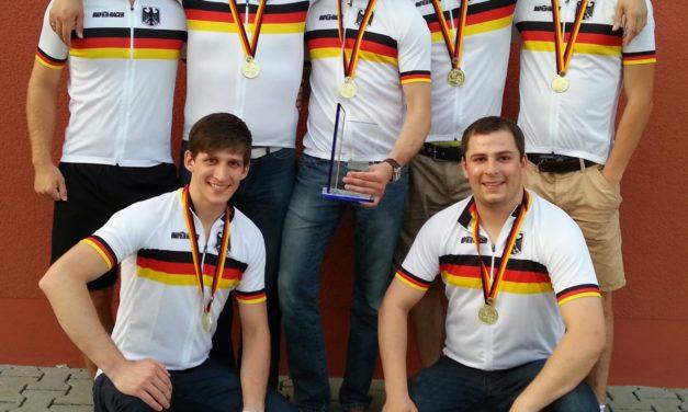 """<span class=""""entry-title-primary"""">5er-Radball – Deutsche Meisterschaft 2013</span> <span class=""""entry-subtitle"""">Endlich geschafft - RSG ist Deutscher 5er-Meister!</span>"""