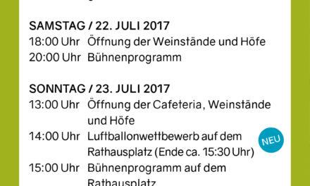 """<span class=""""entry-title-primary"""">Neues wagen –  Bewährtes bewahren</span> <span class=""""entry-subtitle"""">Nackenheim feiert sein Weinfest """"Im fröhlichen Weinberg"""" vom 21. bis 24 Juli</span>"""