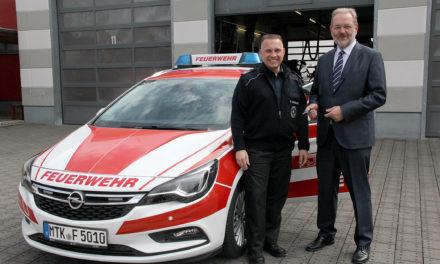 Neuer Kommandowagen für die Feuerwehr