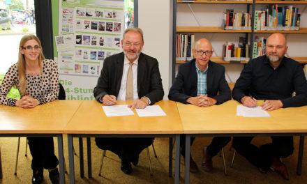 Stadt und Sophie-Scholl-Schule begründen Bildungspartnerschaft