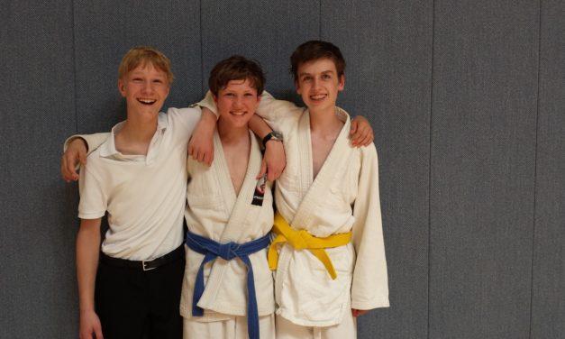 Erfolgreicher Tag für Ginsheimer Judoka