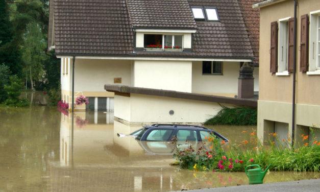 """<span class=""""entry-title-primary"""">Land unter für die Dämmung</span> <span class=""""entry-subtitle"""">Schäden durch Hochwasser: Das sollten Hausbesitzer wissen</span>"""
