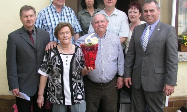 """<span class=""""entry-title-primary"""">60 Jahre gemeinsam das Leben gestalten</span> <span class=""""entry-subtitle"""">Rosa und Johann Sprang aus Bodenheim feierten Diamantene Hochzeit</span>"""