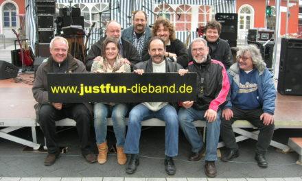 """<span class=""""entry-title-primary"""">Rock – einfach weil es Spaß macht!</span> <span class=""""entry-subtitle"""">Mainzer Coverrock-Band """"Just Fun"""" begeistern mit ihren Songs seit 15 Jahren</span>"""