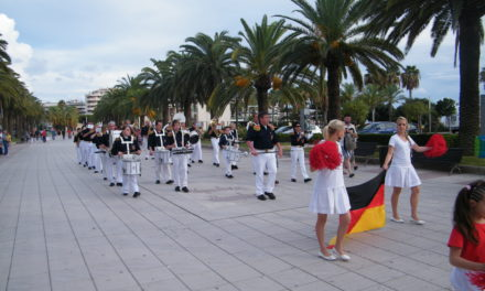 "<span class=""entry-title-primary"">Auf Christoph Kolumbus Spuren …</span> <span class=""entry-subtitle"">Bodenheimer Schoppengarde beim Musikfestival in Spanien</span>"