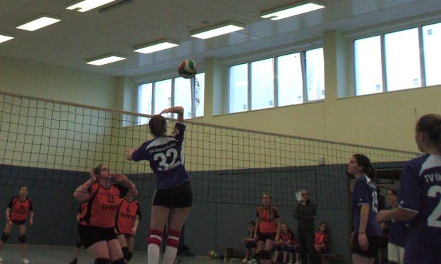 """<span class=""""entry-title-primary"""">Tabellenführer nach drei Spielen</span> <span class=""""entry-subtitle"""">Undenheimer Volleyball-Damen siegreich</span>"""