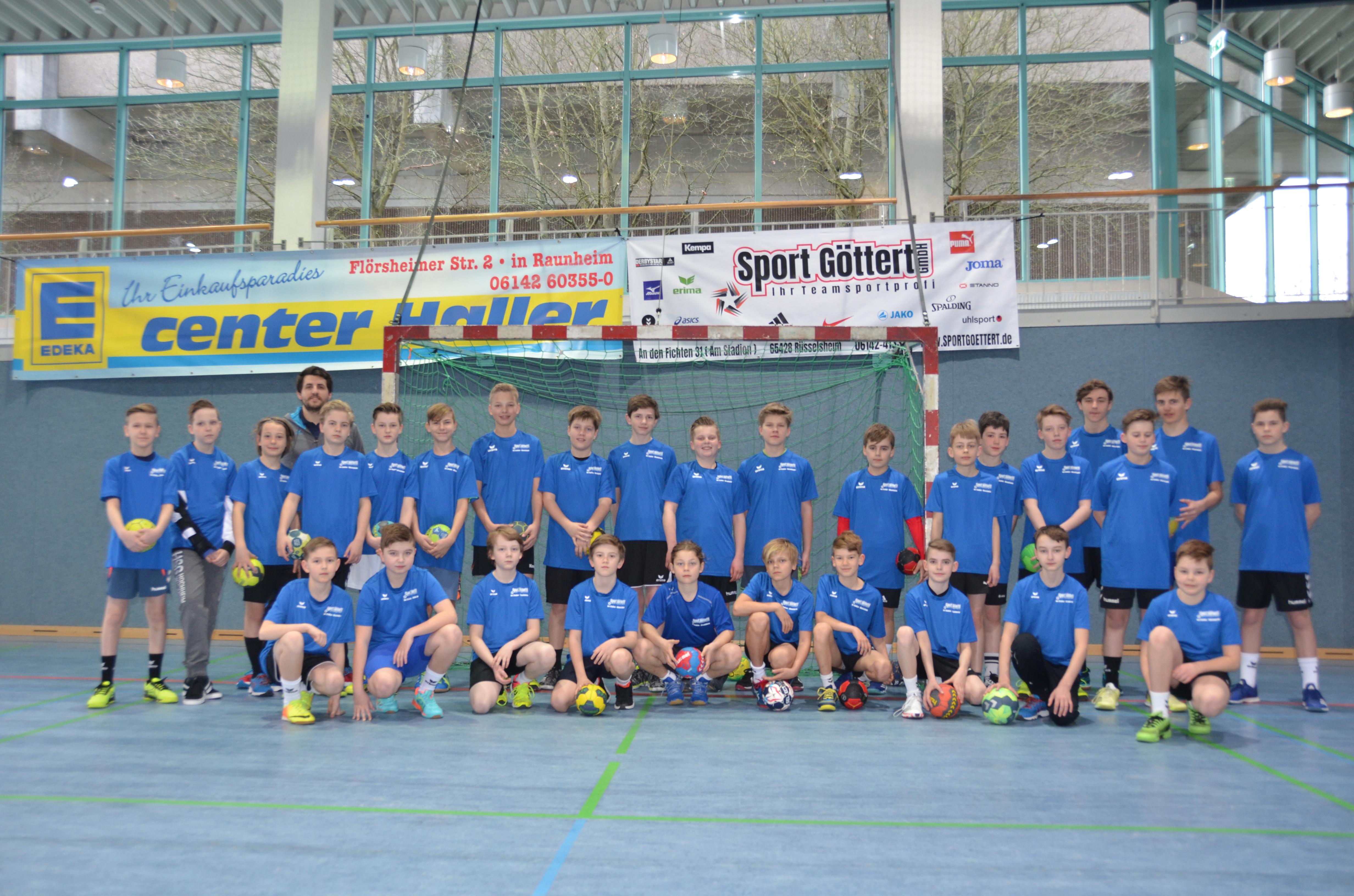 Osterferien Handball Junior Camp 2018 der HSG Hochheim