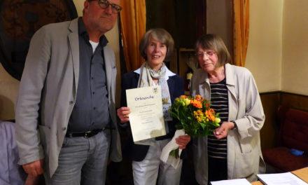 """<span class=""""entry-title-primary"""">""""Organisatorin und Ideengeberin in hervorragender Weise""""</span> <span class=""""entry-subtitle"""">Dr. Gudula Zeller ist Ehrenvorsitzende des Vereins """"Hechtsheimer Ortsgeschichte"""" </span>"""