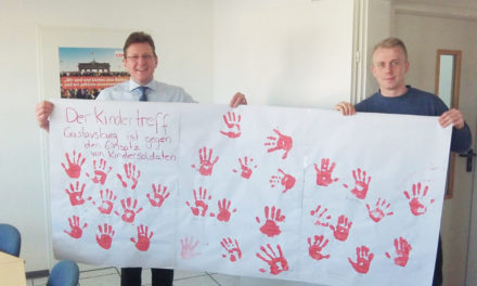 Red-Hand-Day im Kindertreff Gustavsburg