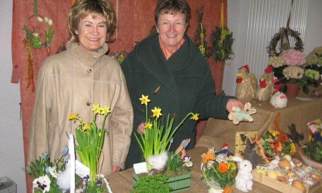 Der Ostermarkt der Gau-Bischofsheimer Landfrauen
