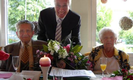 """<span class=""""entry-title-primary"""">Seltenes Fest der """"Gnadenhochzeit""""</span> <span class=""""entry-subtitle"""">Ottilie und Karl Galloy sind seit 70 Jahren glücklich verheiratet</span>"""