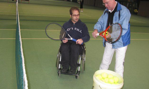 """<span class=""""entry-title-primary"""">Auf Sport muss nicht verzichtet werden</span> <span class=""""entry-subtitle"""">In Nordenstadt können Rollstuhlfahrer das Tennisspielen lernen</span>"""
